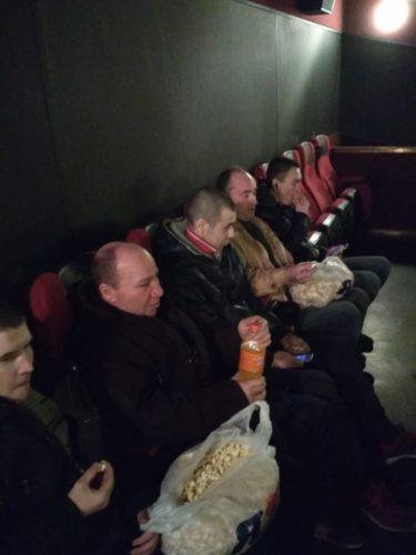 Организованы регулярные походы в кино
